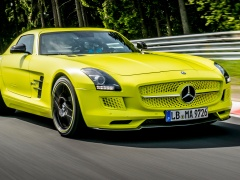mercedes-benz sls amg coupe electric drive pic #109187