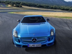 mercedes-benz sls amg coupe electric drive pic #109190