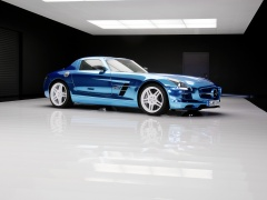 mercedes-benz sls amg coupe electric drive pic #109204