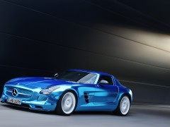 mercedes-benz sls amg coupe electric drive pic #109215