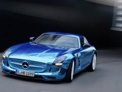 SLS AMG Coupe Electric Drive photo #109216