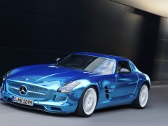 SLS AMG Coupe Electric Drive photo #109217