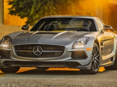 mercedes-benz sls amg coupe black series pic #109235