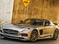 mercedes-benz sls amg coupe black series pic #109237