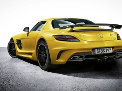 mercedes-benz sls amg coupe black series pic #109252