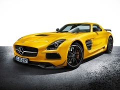 mercedes-benz sls amg coupe black series pic #109253