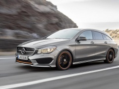 mercedes-benz cla shooting brake pic #133401