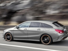 mercedes-benz cla shooting brake pic #133402