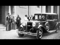mercedes-benz nurburg 460 popemobile pic #53858
