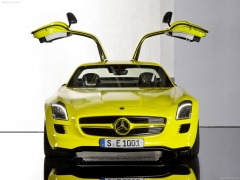 mercedes-benz sls amg e-cell pic #74550