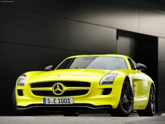 mercedes-benz sls amg e-cell pic #74553