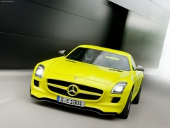 mercedes-benz sls amg e-cell pic #74554