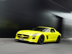 mercedes-benz sls amg e-cell pic #74557