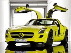 mercedes-benz sls amg e-cell pic #74558