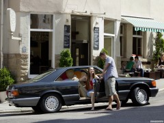 mercedes-benz s-class coupe c126 pic #76873