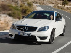mercedes-benz c63 amg coupe pic #78723