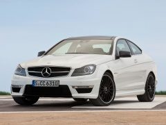 mercedes-benz c63 amg coupe pic #78724