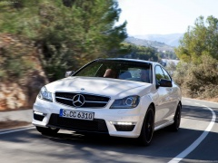 mercedes-benz c63 amg coupe pic #78725