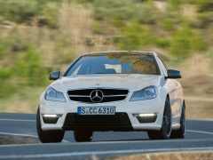 mercedes-benz c63 amg coupe pic #78726