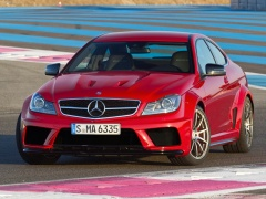 mercedes-benz c63 amg coupe pic #82711