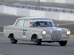 mercedes-benz 220 se racer car pic #91810