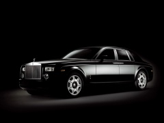 rolls-royce phantom black pic #37374