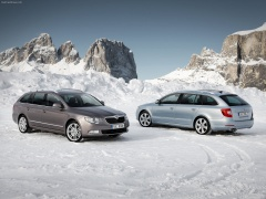 skoda superb combi pic #70849