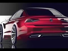 volkswagen new midsize coupe pic #117823