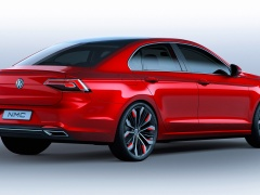 Volkswagen New Midsize Coupe pic