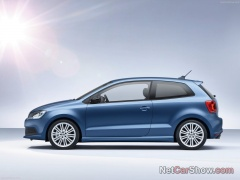 volkswagen polo blue gt pic #93265