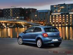 volkswagen polo blue gt pic #93270