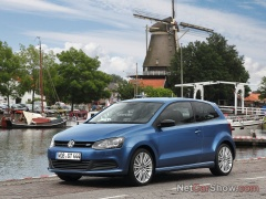 volkswagen polo blue gt pic #93272