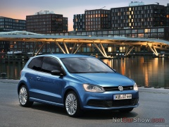 volkswagen polo blue gt pic #93273
