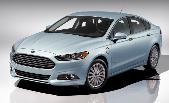 Ford Fusion Energi Gains 5-Star Safety Rate