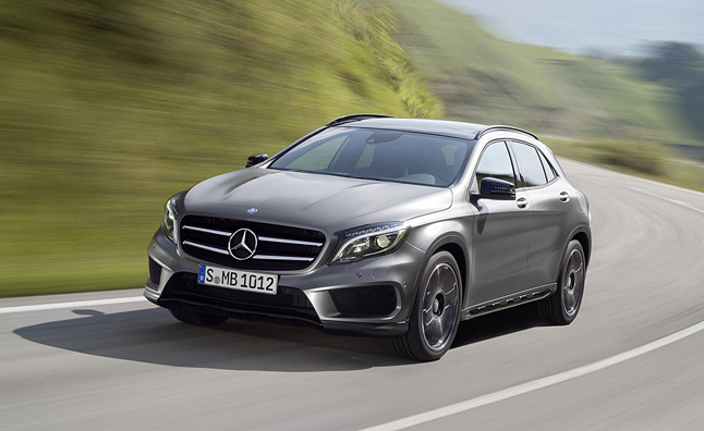 2015 Mercedes GLA Spotted
