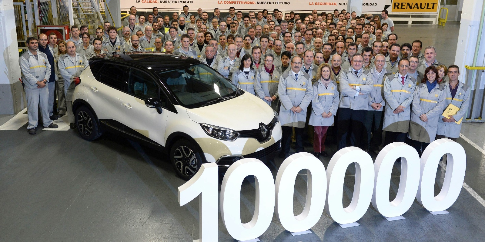 Renault Captur Celebrates 100,000 Vehicles Produced