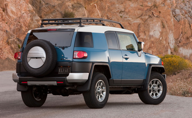 Toyota FJ Cruiser Removed After 2014 Model Year