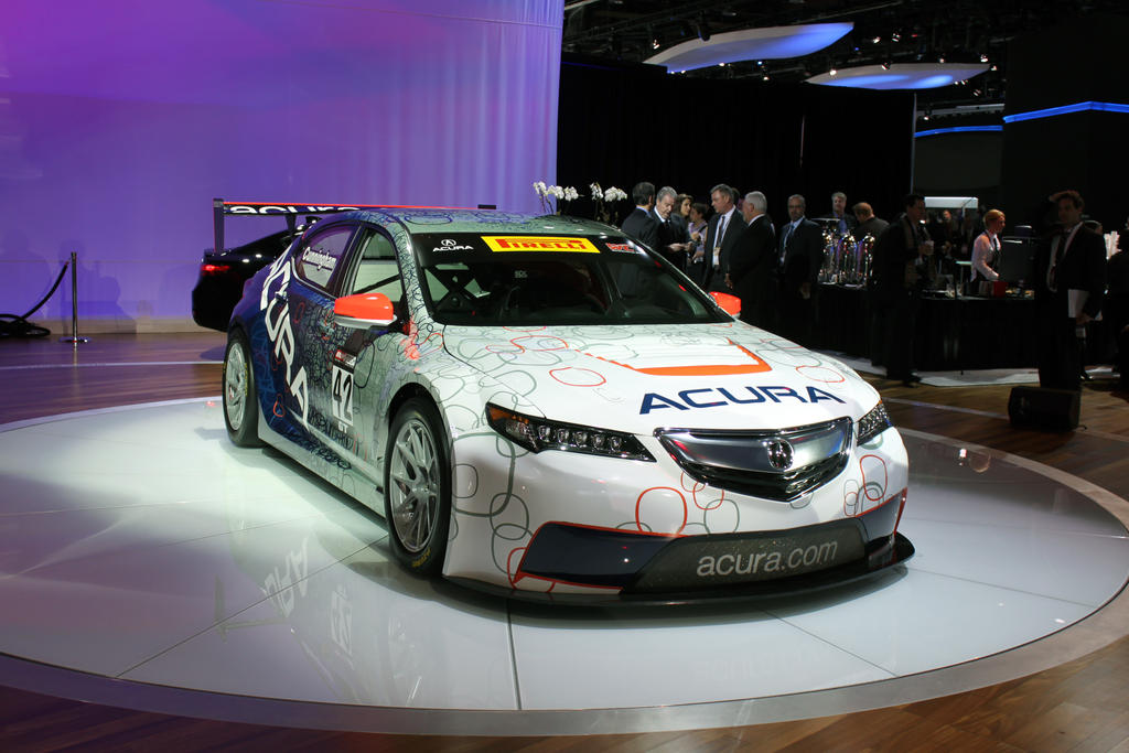 American Presentation of Race Acura TLX GT