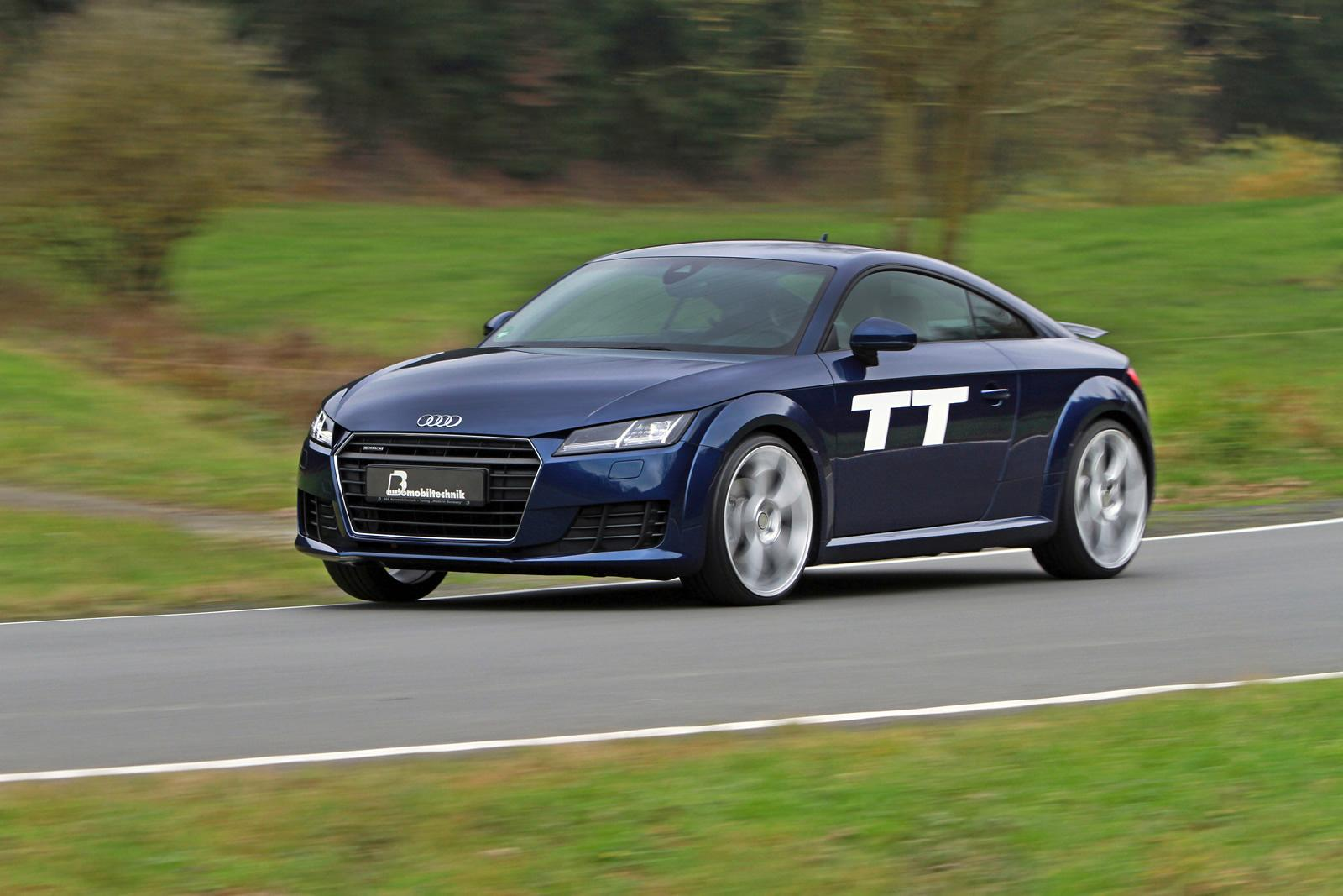 B&B Adjusted Audi TT to 360 HP