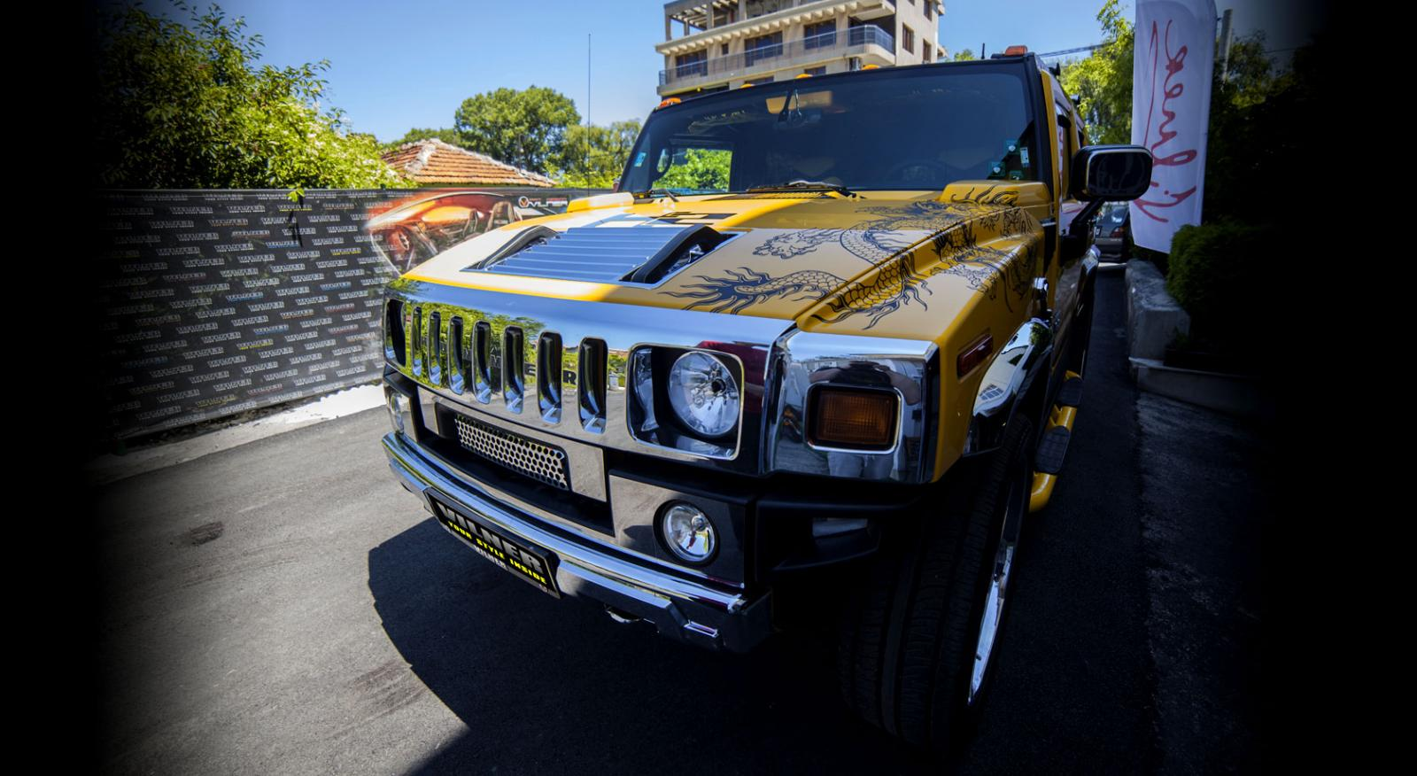 Dragon Refashioning of Hummer H2