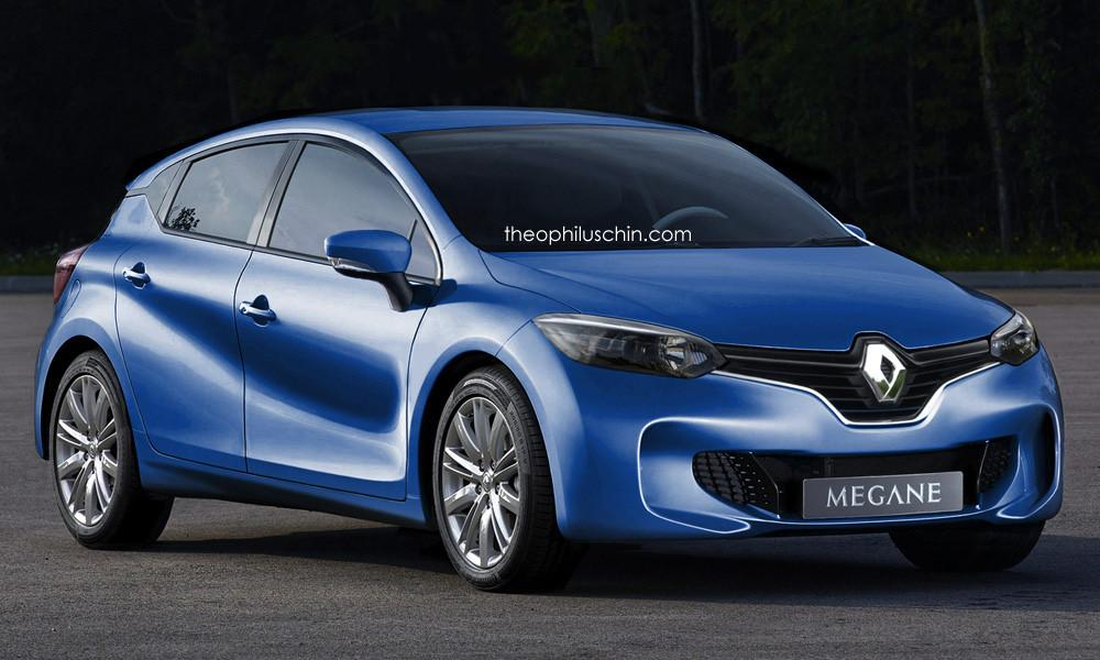 Megane of 2016 from Renault Envisioned with the Influence of Eolab Concept