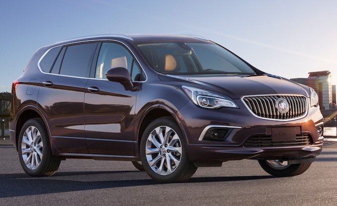 Expect Buick Envision in America in 2016
