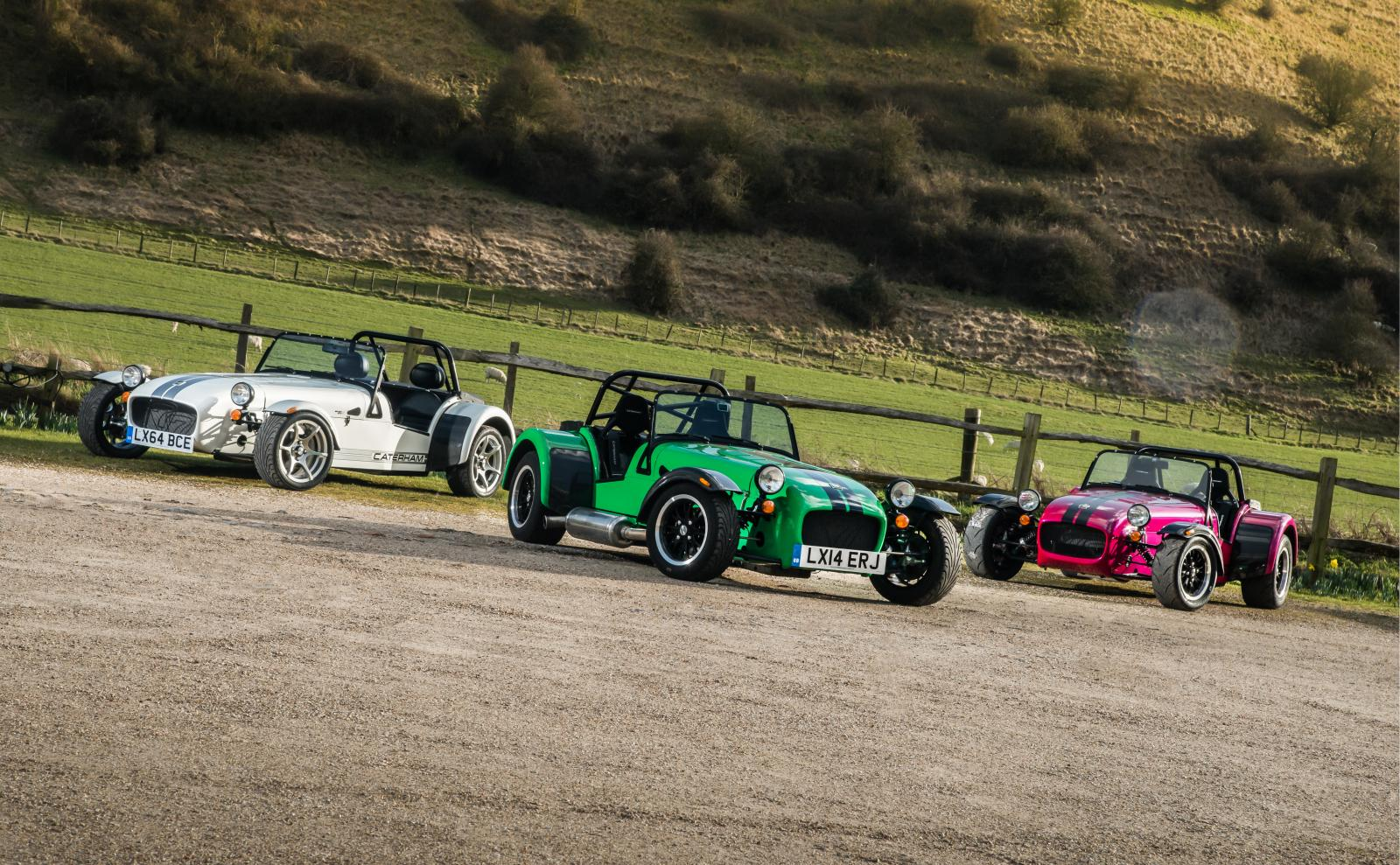 Get Ready for Three Innovated Seven Models from Caterham
