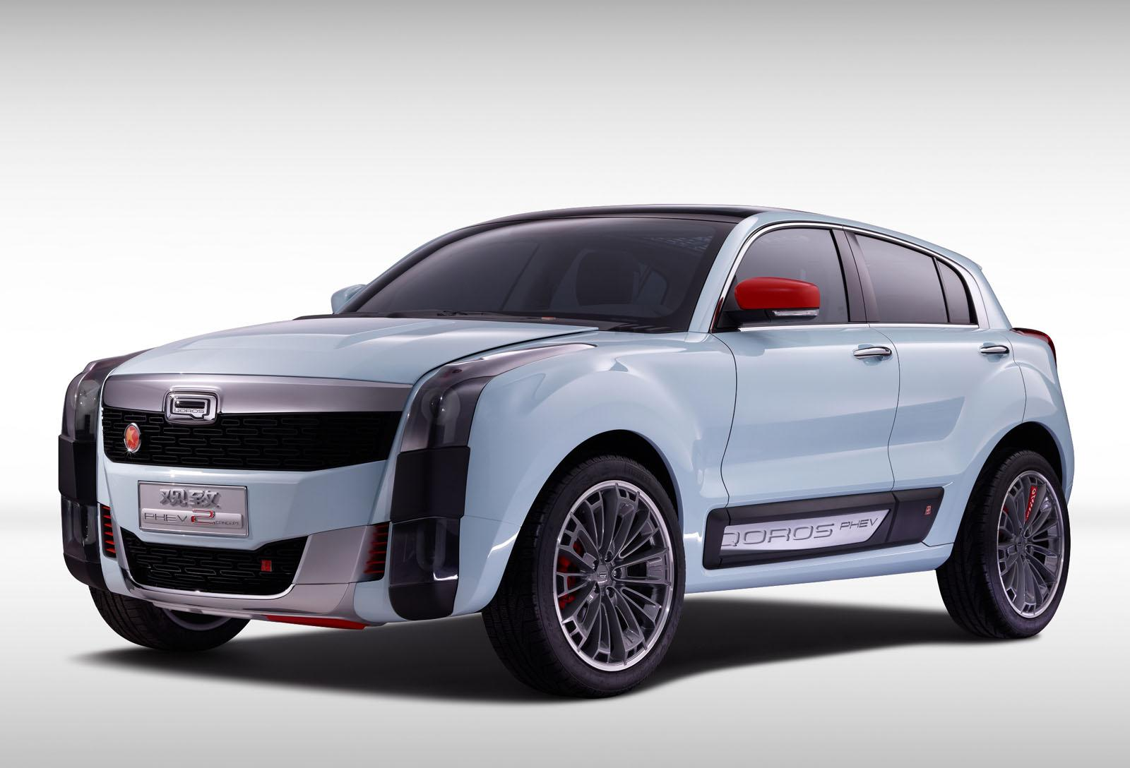 2 SUV PHEV Concept from Qoros revealed in Shanghai