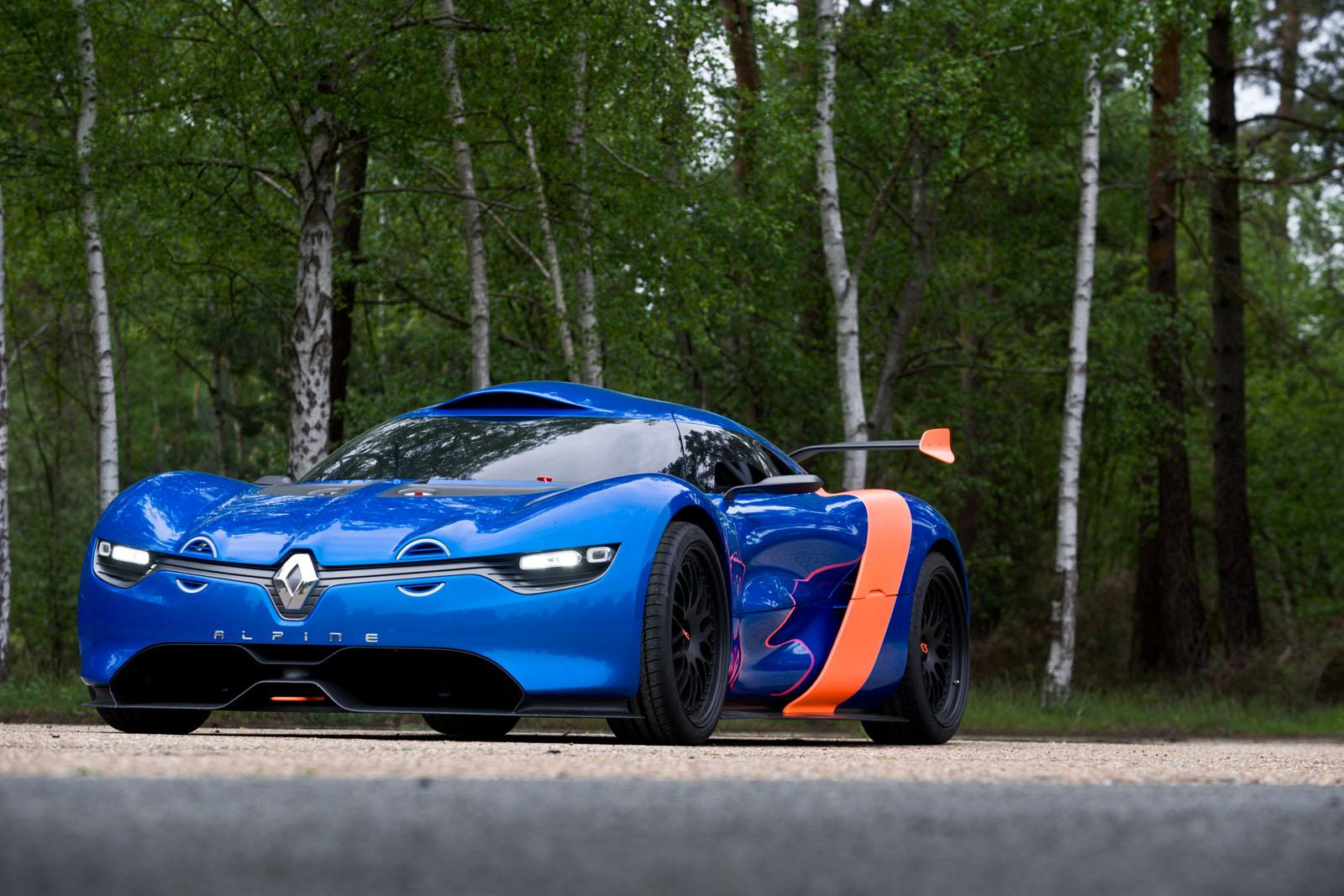 Renault Alpine concept might be revealed in June at Le Mans