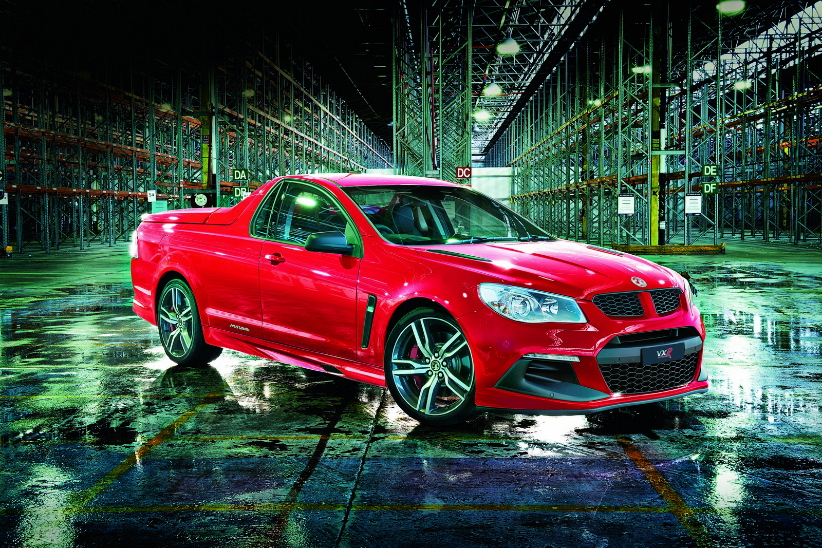 An LSA V8 Motor with 528 hp for 2016 Vauxhall Maloo