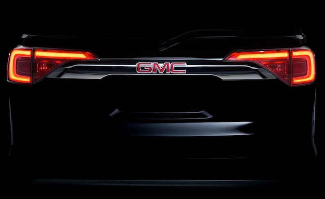 Promo Picture of Next Year's GMC Acadia
