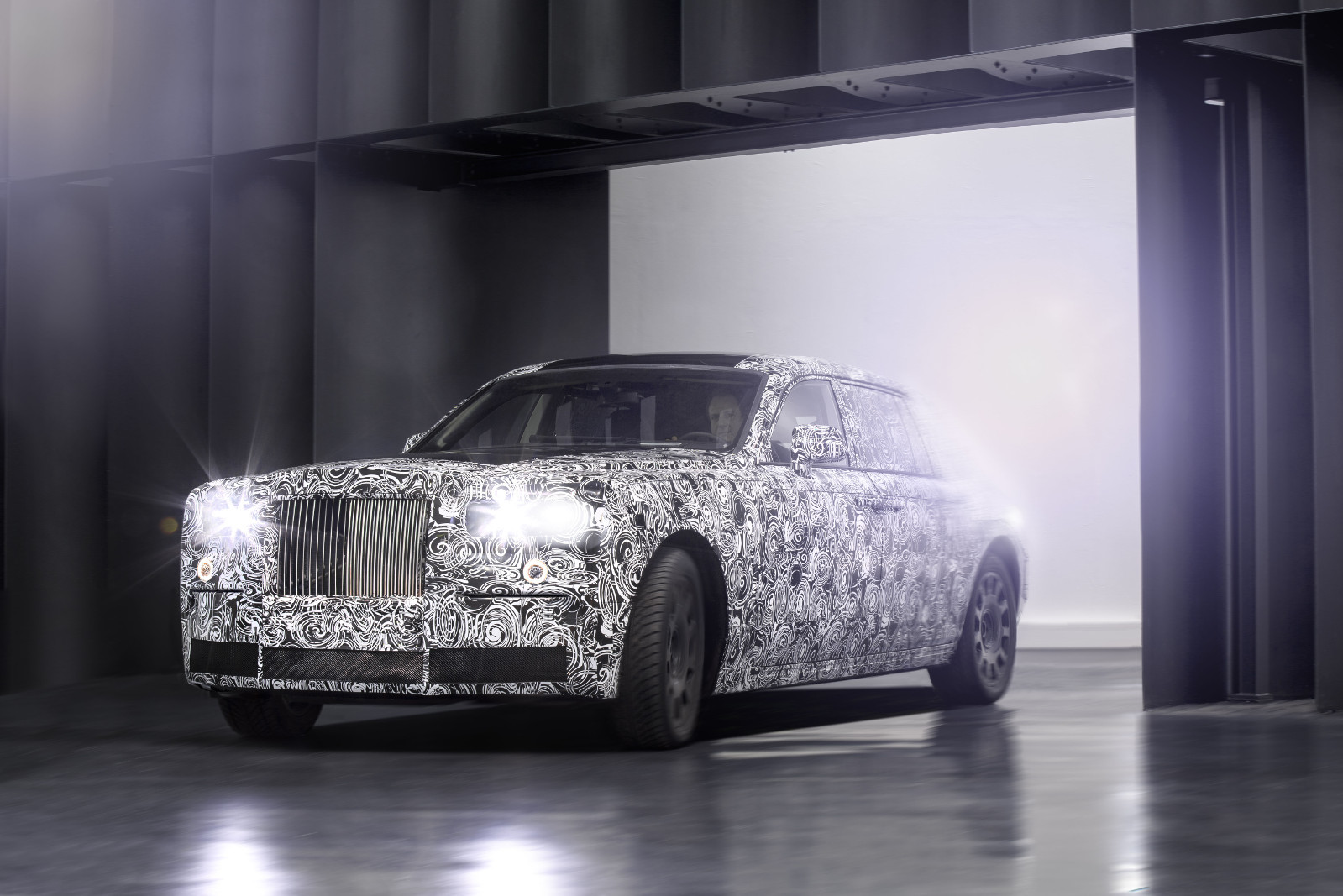 Aluminium Space-Frame Architecture from Rolls Royce