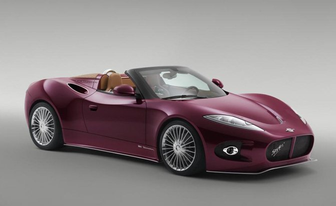 EV Concept from Spyker Should Come Out in March