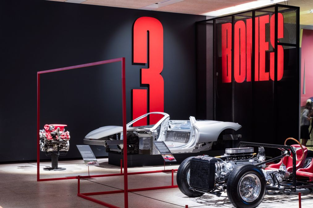 The Exhibition 'Ferrari: Under The Skin' Is Held In London